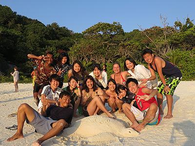 No8の島のビーチ