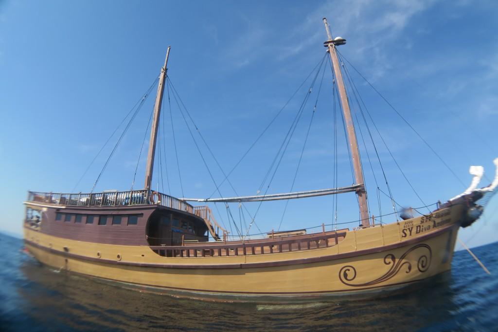豪華クルーズ船『DIVA ANDAMAN』
