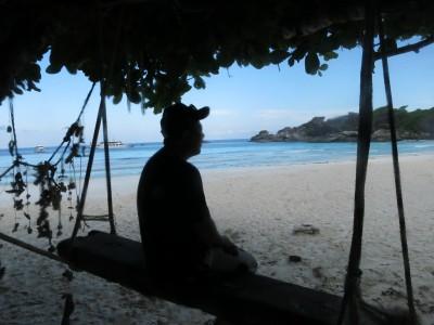 ビーチでまったり@シミラン諸島NO.8