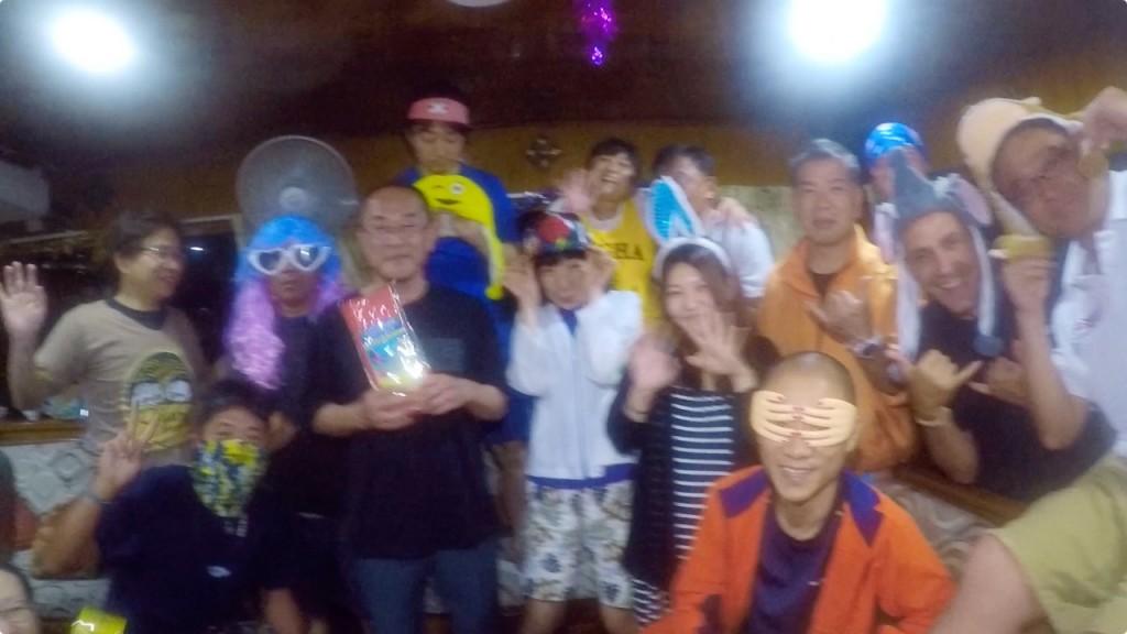 新年パーティー@タチャイピナクル(タチャイ島)