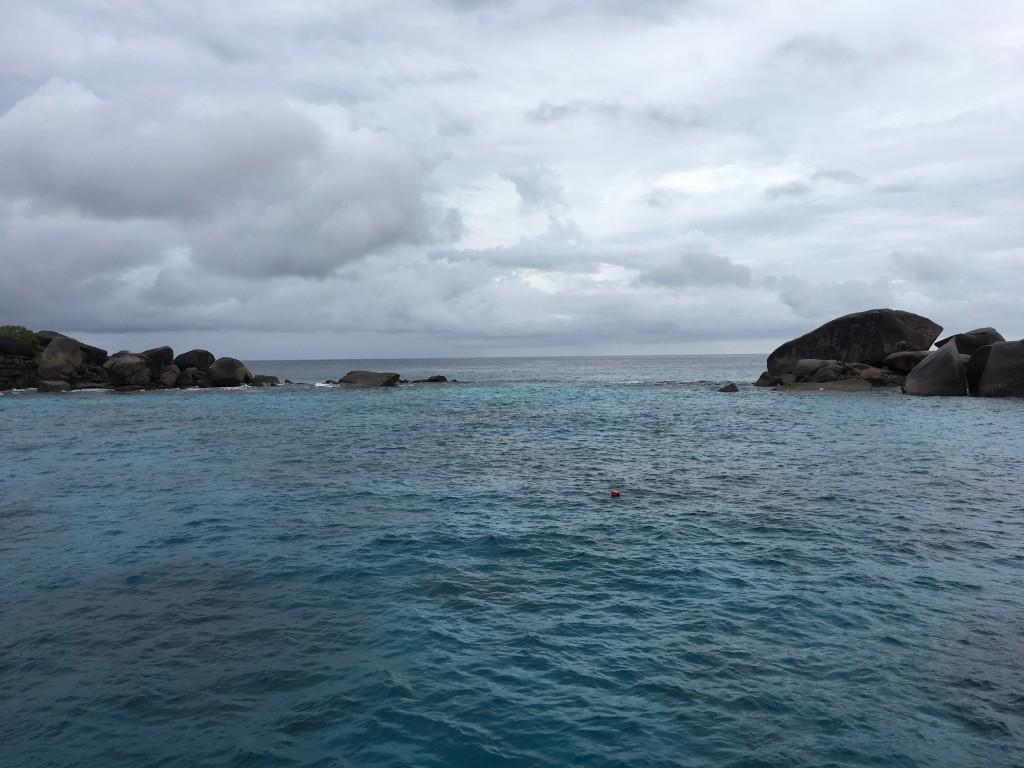 シミラン諸島の海況安定しました!